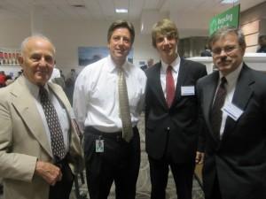 Iš kairės: Stasys Bačkaitis, Andrew Anuzis, Paulius Vertelka, Saulius Kuprys